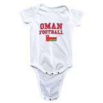 Oman Football Onesie (White)