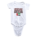United Arab Emirates Soccer Onesie (White)