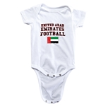 United Arab Emirates Football Onesie (White)