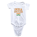 India Soccer Onesie (White)