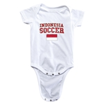 Indonesia Soccer Onesie (White)