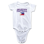 Philippines Football Onesie (White)