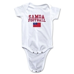 Samoa Football Onesie (White)