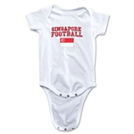 Singapore Football Onesie (White)