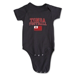 Tonga Football Onesie (Black)