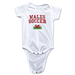 Wales Soccer Onesie (White)