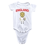 England Animal Mascot Onesie (White)