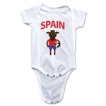 Spain Animal Mascot Onesie (White)