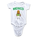 Mexico Animal Mascot Onesie (White)