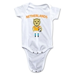 Netherlands Animal Mascot Onesie (White)