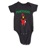 Portugal Animal Mascot Onesie (Black)