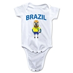 Brazil Animal Mascot Onesie (White)
