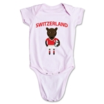 Switzerland Animal Mascot Onesie (Pink)