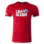 USA Rugby Logo T-Shirt (Red)