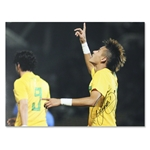 Icons Neymar Signed Santos Photo