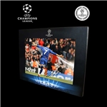 Icons Official UEFA Champions League Cristiano Ronaldo Signed Goal vs Arsenal Photo