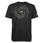 All Blacks Gold Koru T-Shirt