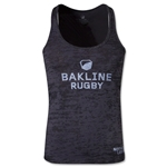 Bakline Burn Out Women's Razor Tank (Gray/Black)
