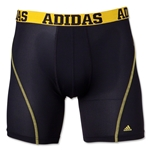adidas Sport Performance ClimaCool 2-Pack Boxer Brief (Blk/Yellow)