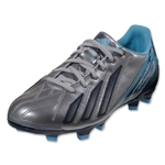 adidas Women's F30 TRX FG-Leather (Metallic Silver/Collegiate Navy)