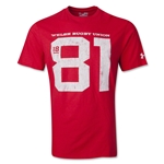 Wales Rugby 1881 T-Shirt (Red)