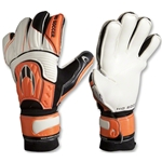 HO Soccer Performance Flat Goalkeeper Gloves (Orange/Black/White)