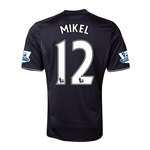 Chelsea 13/14 12 MIKEL Third Soccer Jersey