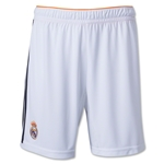 Real Madrid 13/14 Home Soccer Short