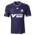 Olympique Marseille 13/14 UCL Away Soccer Jersey