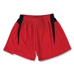 Xara Women's Challenge Soccer Shorts (Red/Blk)