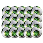 adidas FIFA Confederations Cup 2013 Glider Ball 20 Pack (White/Green)