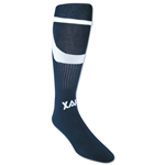 Xara Cool X Soccer Socks (Navy/White)
