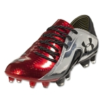 Under Armour Spine Blur CBN FG (Dark Orange/Metallic Silver)