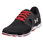 Under Armour Feather Radiate Running Shoe (Black/Red/White)
