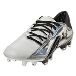 Under Armour Blur CBN III FG Leather (White/Black/Black)