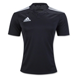 adidas Three Stripe I3 Rugby Jersey (Black)