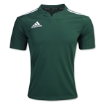 adidas Three Stripe I3 Rugby Jersey (Dark Green)