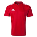 adidas Three Stripe I3 Rugby Jersey (Red)