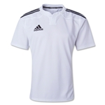 adidas Three Stripe I3 Rugby Jersey (White)