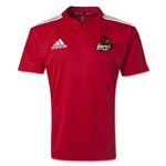University of Louisville Rugby adidas Three Stripe Jersey (Red)