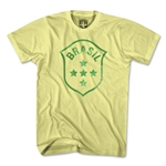 Brazil Crest Lemon T-Shirt (Yellow)