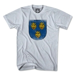 Croatia Golden Lion Crest T-Shirt (Gray)