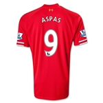 Liverpool 13/14 ASPAS Home Soccer Jersey
