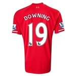 Liverpool 13/14 DOWNING Home Soccer Jersey