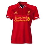 Liverpool 13/14 Women's Home Soccer Jersey
