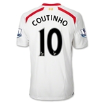 Liverpool 13/14 COUTINHO Away Soccer Jersey