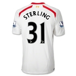 Liverpool 13/14 STERLING Away Soccer Jersey