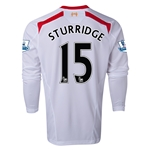 Liverpool 13/14 STURRIDGE LS Away Soccer Jersey