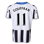 Newcastle United 13/14 GOUFFRAN Home Soccer Jersey