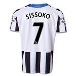 Newcastle United 13/14 SISSOKO Home Soccer Jersey